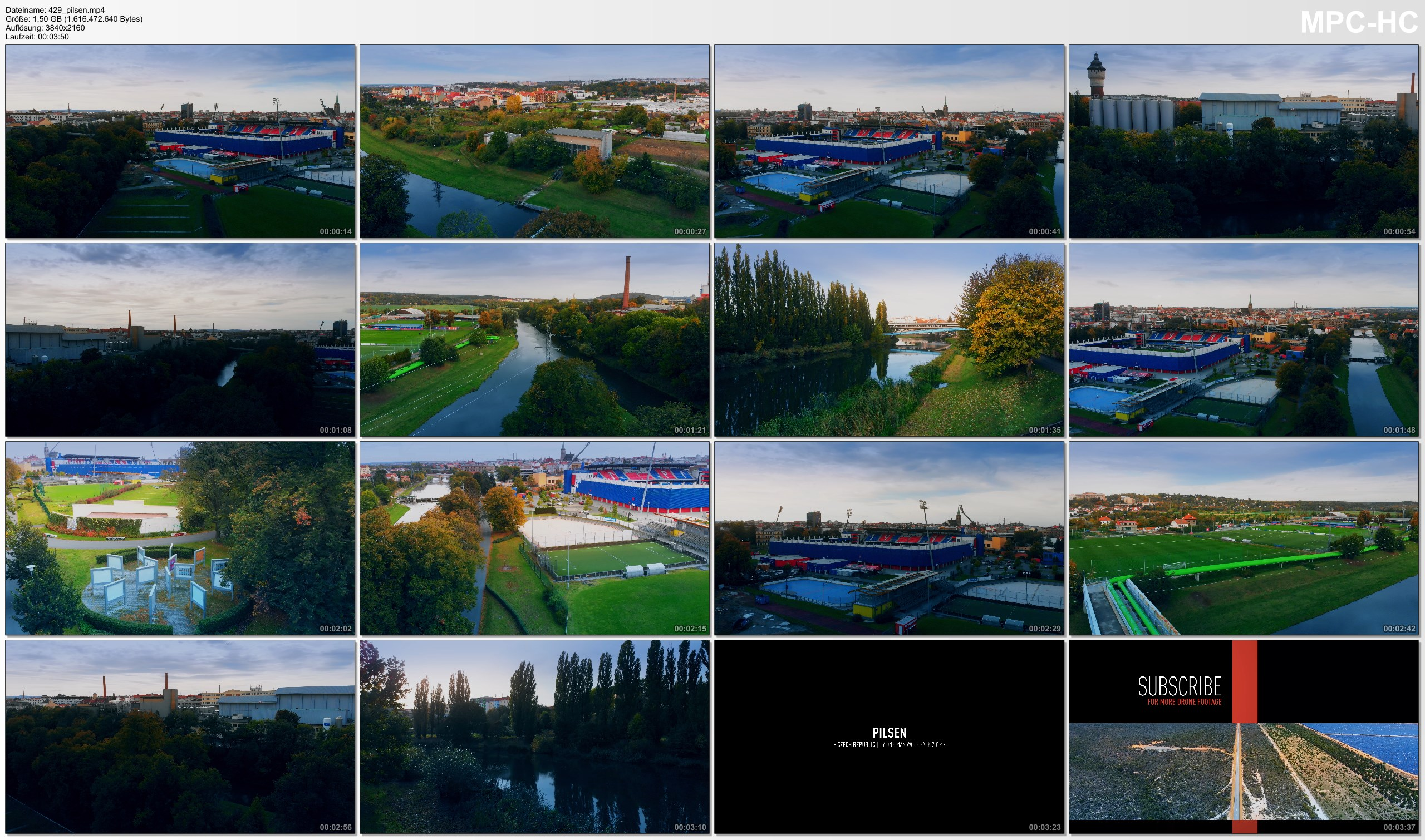 Drone Pictures from Video 【4K】Drone Footage | Pilsen - CZECHIA 2019 ..: Cinematic Aerial | Doosan Arena | Plzeň Czech Republic