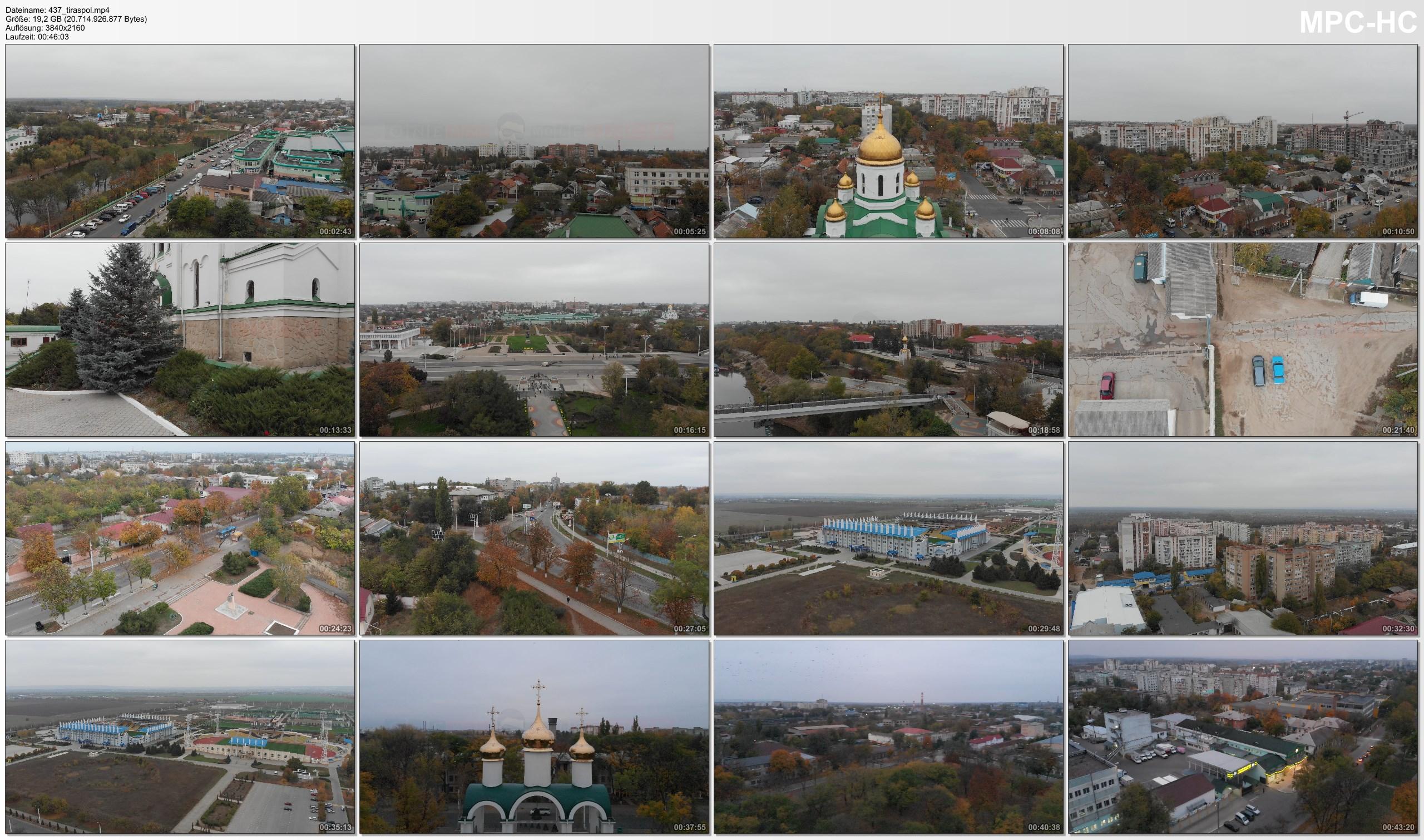 Drone Pictures from Video 【4K】Drone RAW Footage | TRANSNISTRIA 2019 ..:: Tiraspol Transdniestria Moldova | UltraHD Stock Video