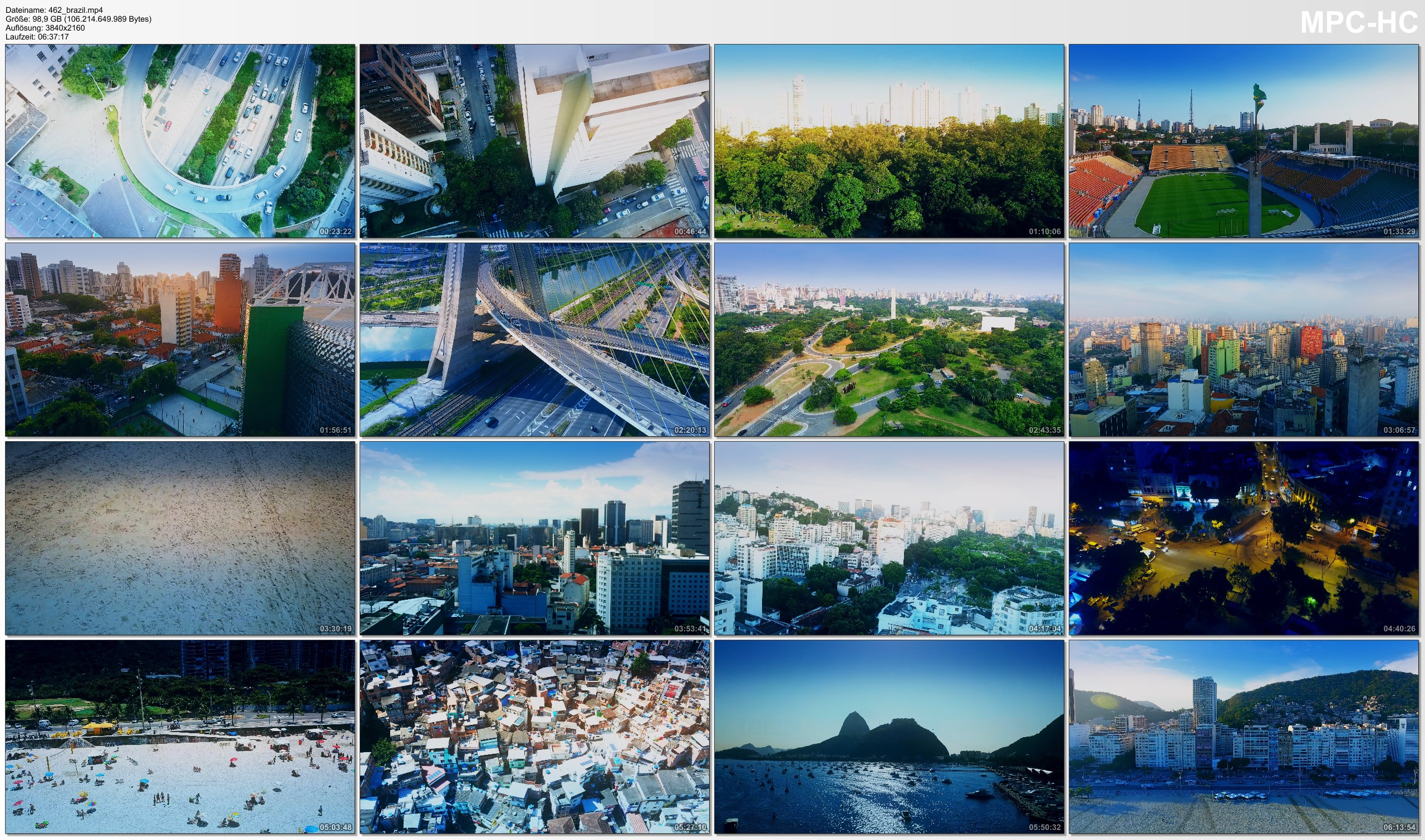 Drone Pictures from Video 【4K】Drone RAW Footage | This is BRAZIL 2020 | Sao Paulo | Rio de Janeiro Brasil UltraHD Stock Video