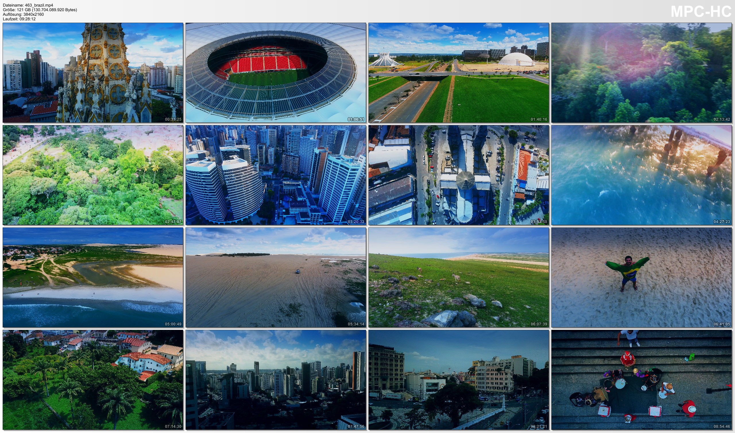 Drone Pictures from Video 【4K】Drone RAW Footage | This is BRAZIL 2020 | Belo H | Fortaleza | Recife | BSB UltraHD Stock Video