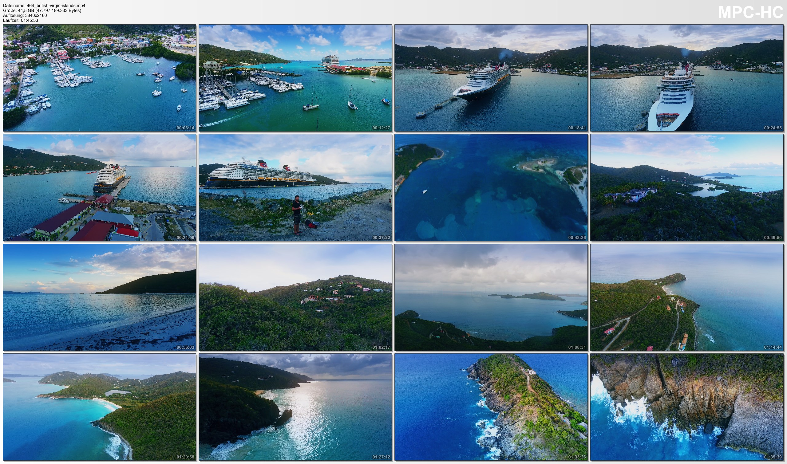 Drone Pictures from Video 【4K】Drone RAW Footage | These are the BRITISH VIRGIN ISLANDS 2020 | BVI Tortola UltraHD Stock Video
