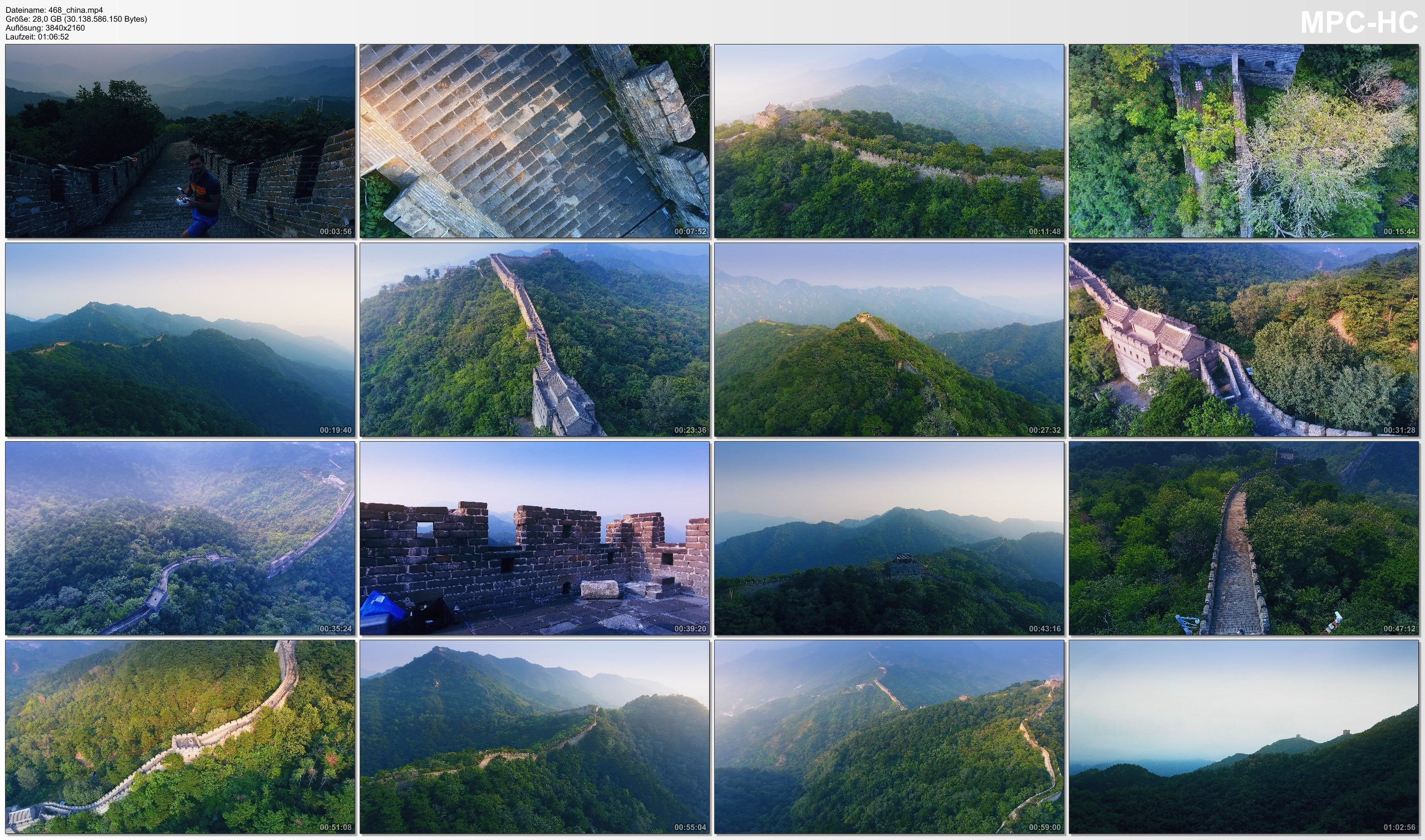 Drone Pictures from Video 【4K】Drone RAW Footage | This is the GREAT WALL CHINA 2020 | Mutianyu Jinshanling UltraHD Stock Video