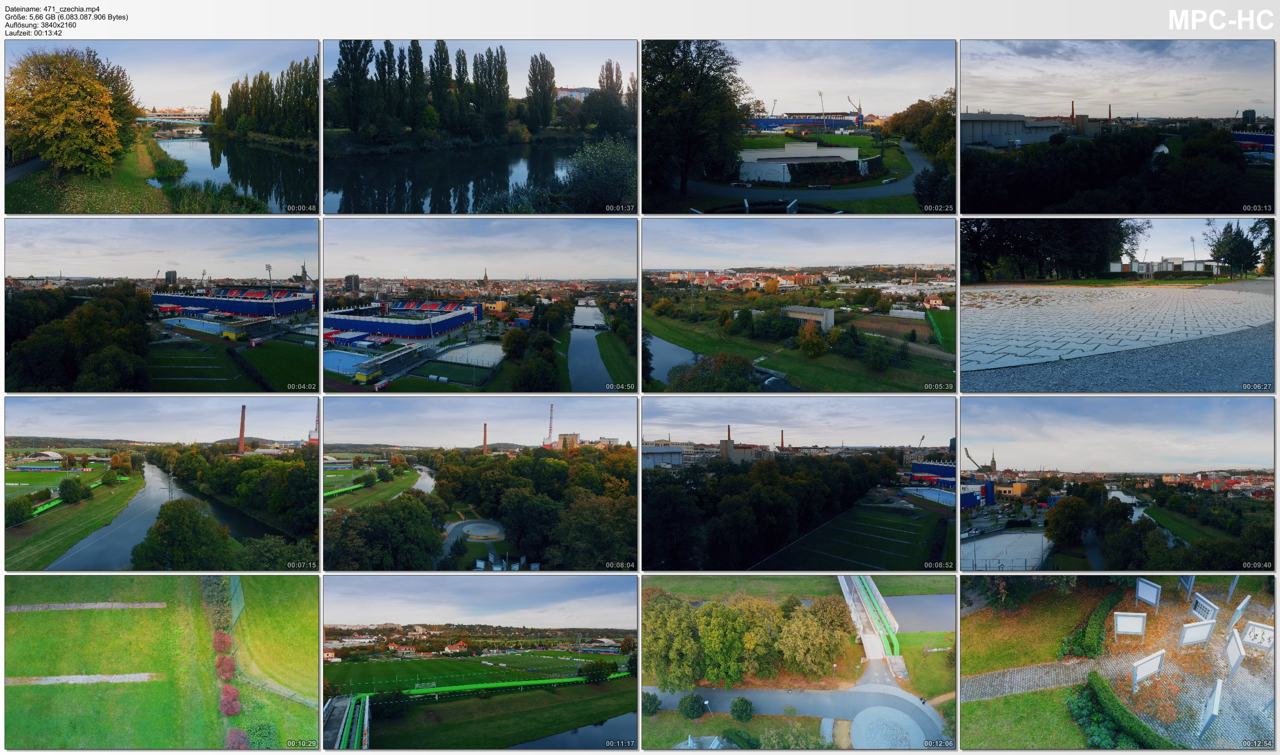 Drone Pictures from Video 【4K】Drone RAW Footage   This is CZECHIA 2020   Pilsen   UltraHD Stock Video