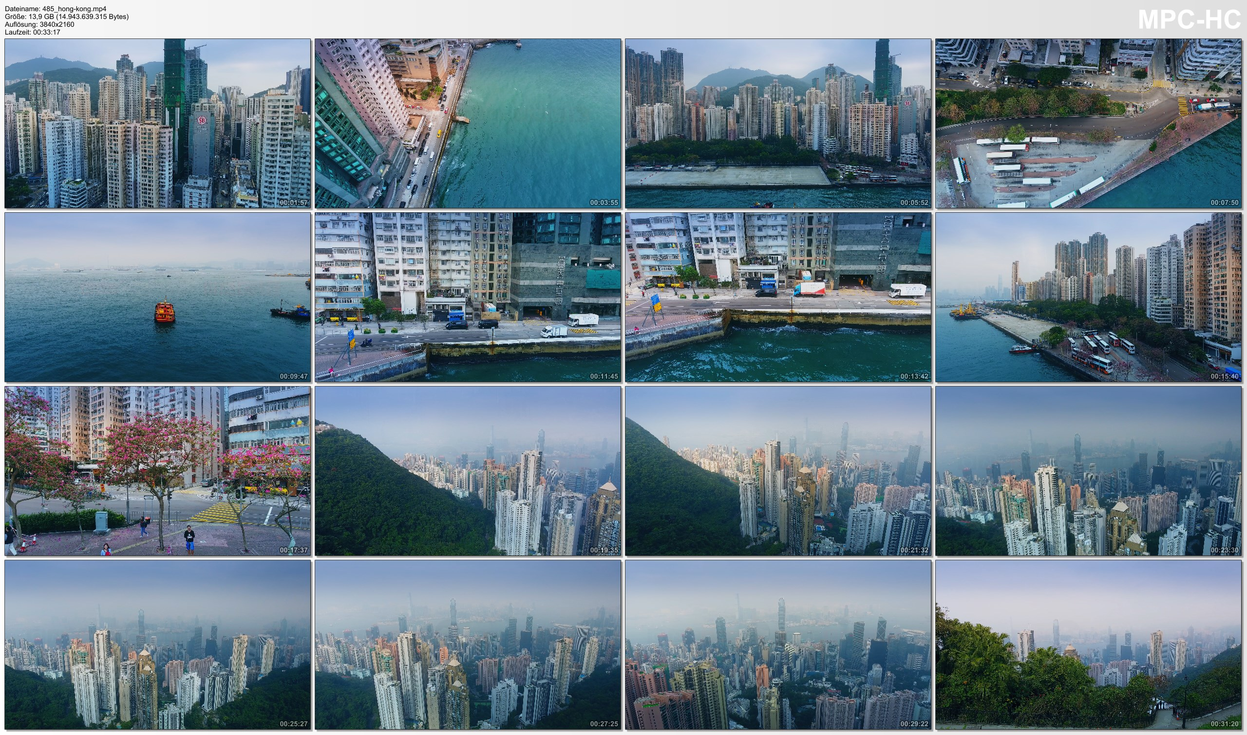 Drone Pictures from Video 【4K】Drone RAW Footage   This is HONG KONG 2020   Victorias Peak and More   UltraHD Stock Video