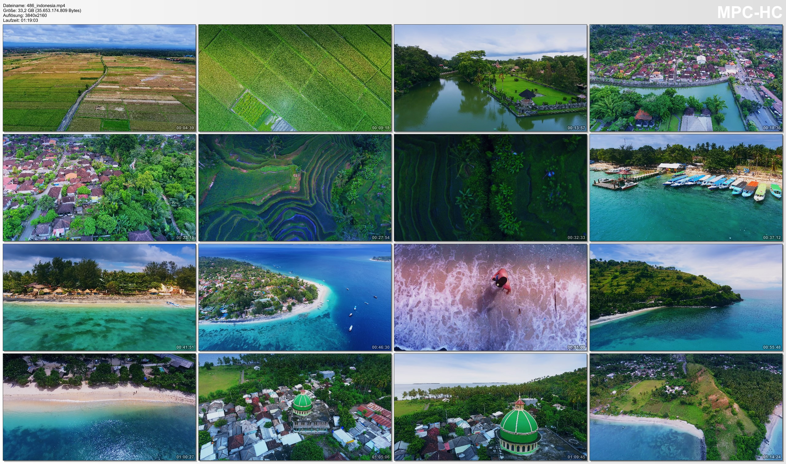 Drone Pictures from Video 【4K】Drone RAW Footage | This is INDONESIA 2020 | Bali | Lombok | Gili Islands | UltraHD Stock Video