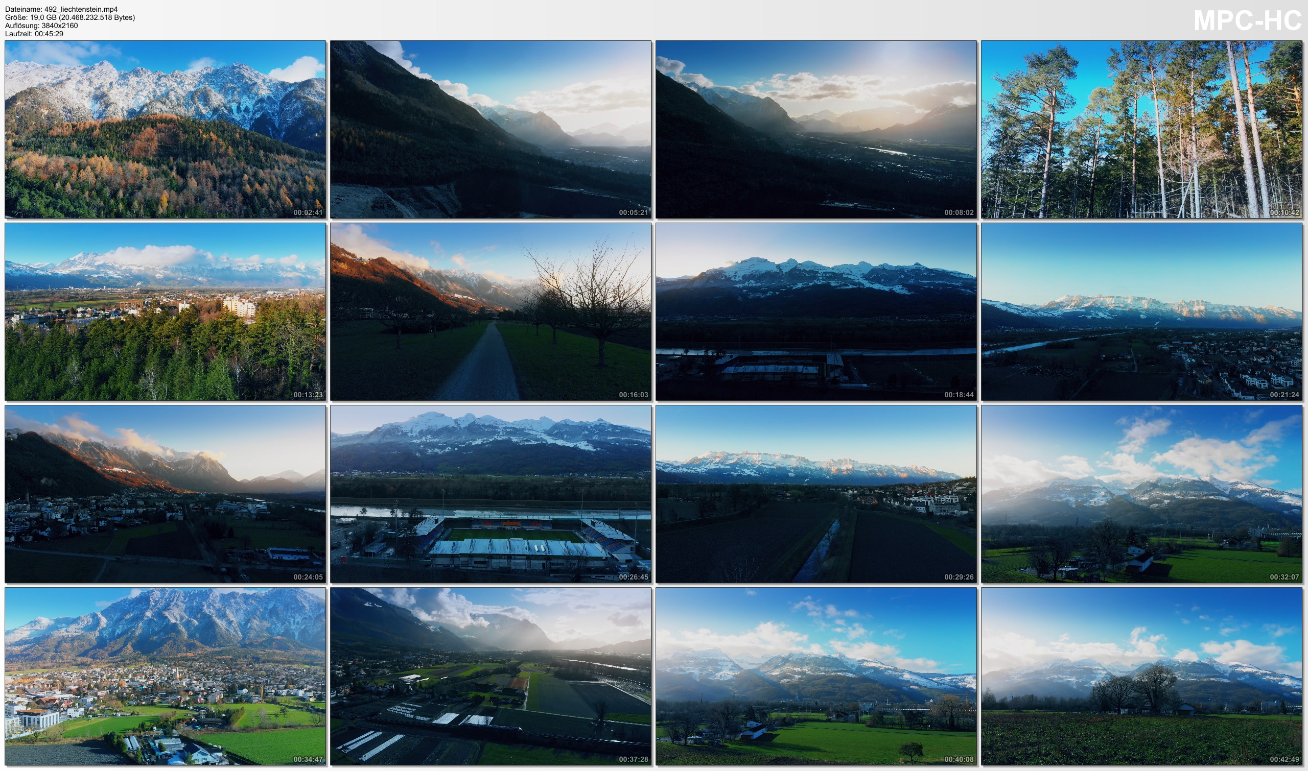 Drone Pictures from Video 【4K】Drone RAW Footage | This is LIECHTENSTEIN 2020 | Vaduz | Schaan and More | UltraHD Stock Video