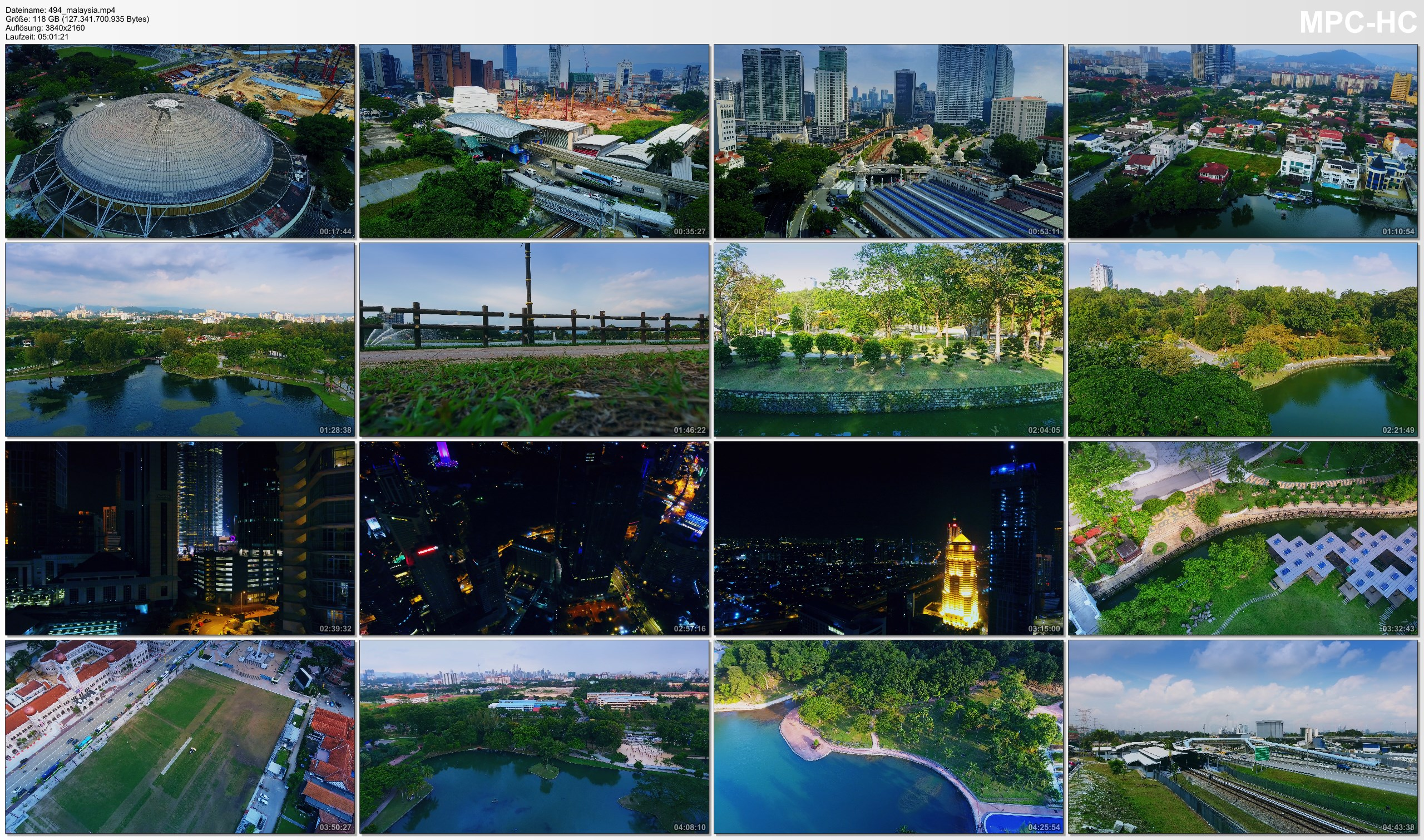 Drone Pictures from Video 【4K】Drone RAW Footage | This is MALAYSIA 2020 | 5 Hours of Kuala Lumpur | UltraHD Stock Video