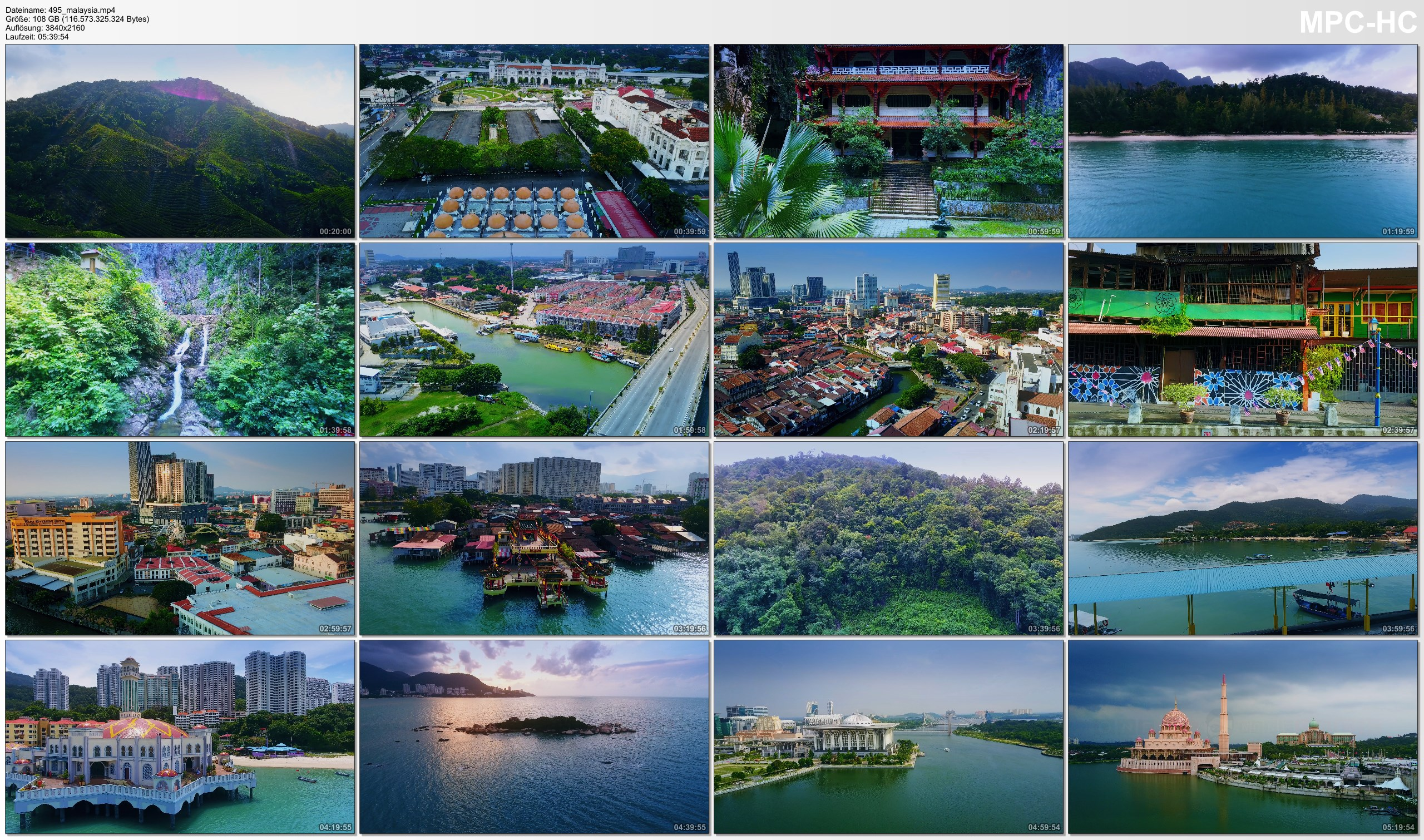 Drone Pictures from Video 【4K】Drone RAW Footage   This is MALAYSIA 2020   Penang   Langkawi   Putrajaya   UltraHD Stock Video