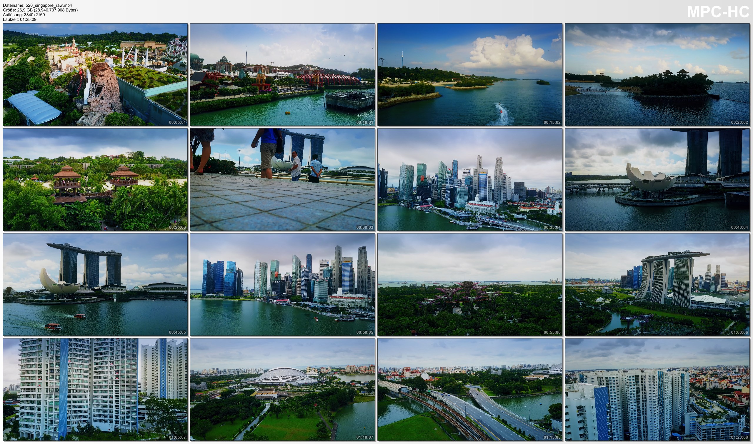 Drone Pictures from Video 【4K】Drone RAW Footage | This is SINGAPORE 2020 | The Lion City | UltraHD Stock Video