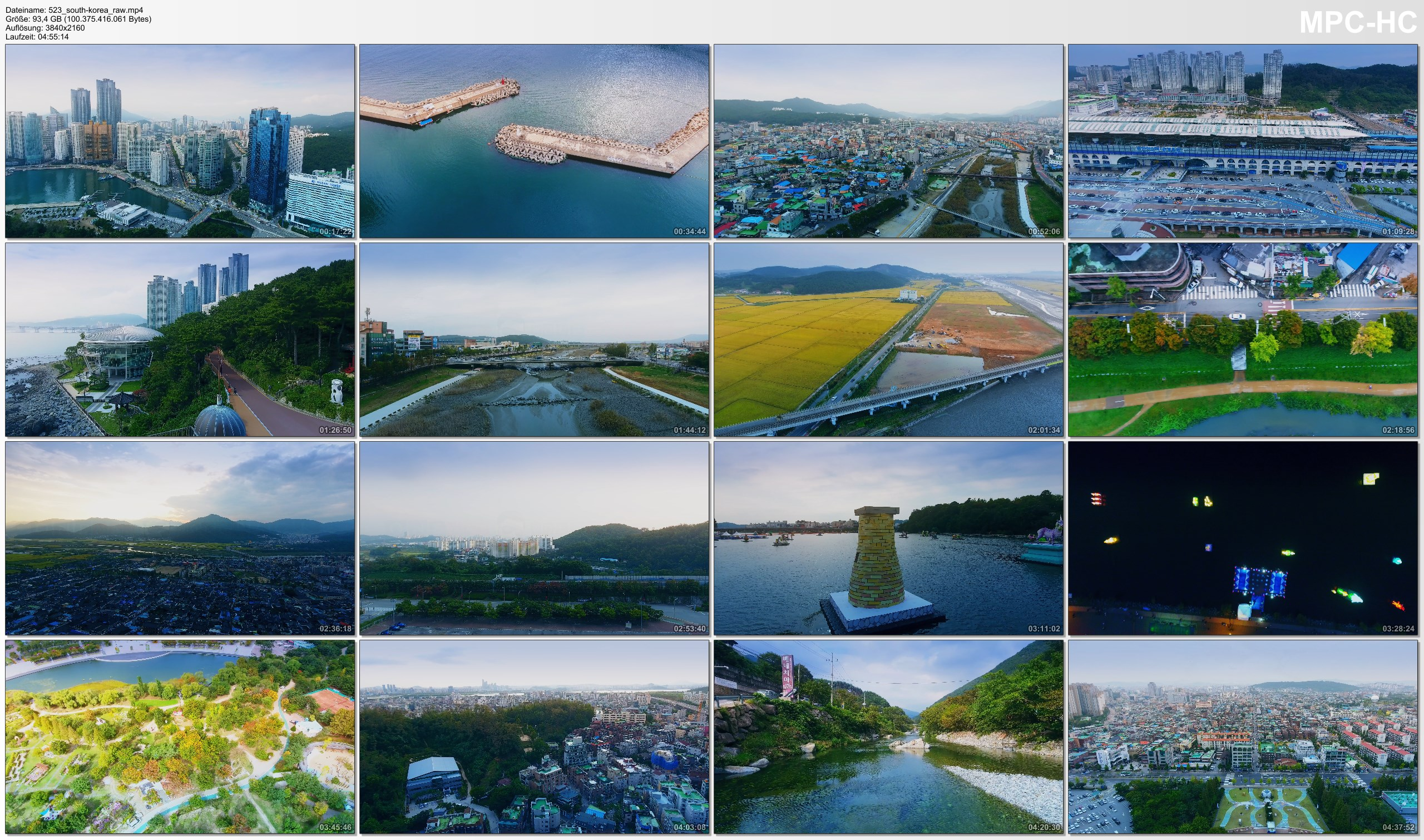 Drone Pictures from Video 【4K】Drone RAW Footage | This is SOUTH KOREA 2020 | Seoul | Busan and More | UltraHD Stock Video