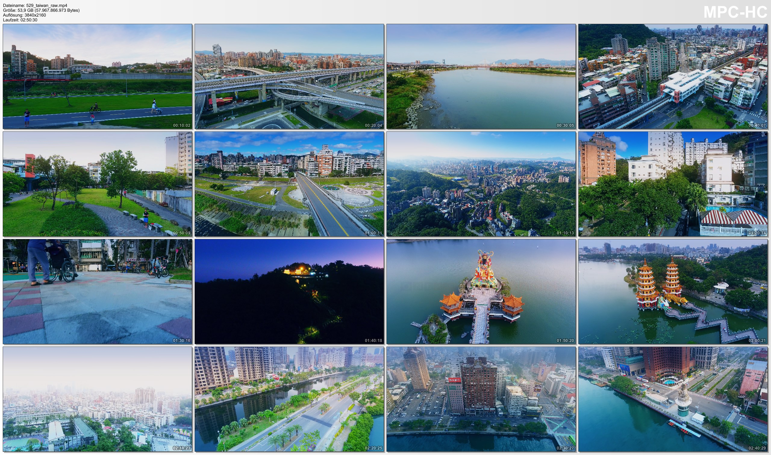 Drone Pictures from Video 【4K】Drone RAW Footage | This is TAIWAN 2020 | Capital City Taipei | Kaohsiung | UltraHD Stock Video