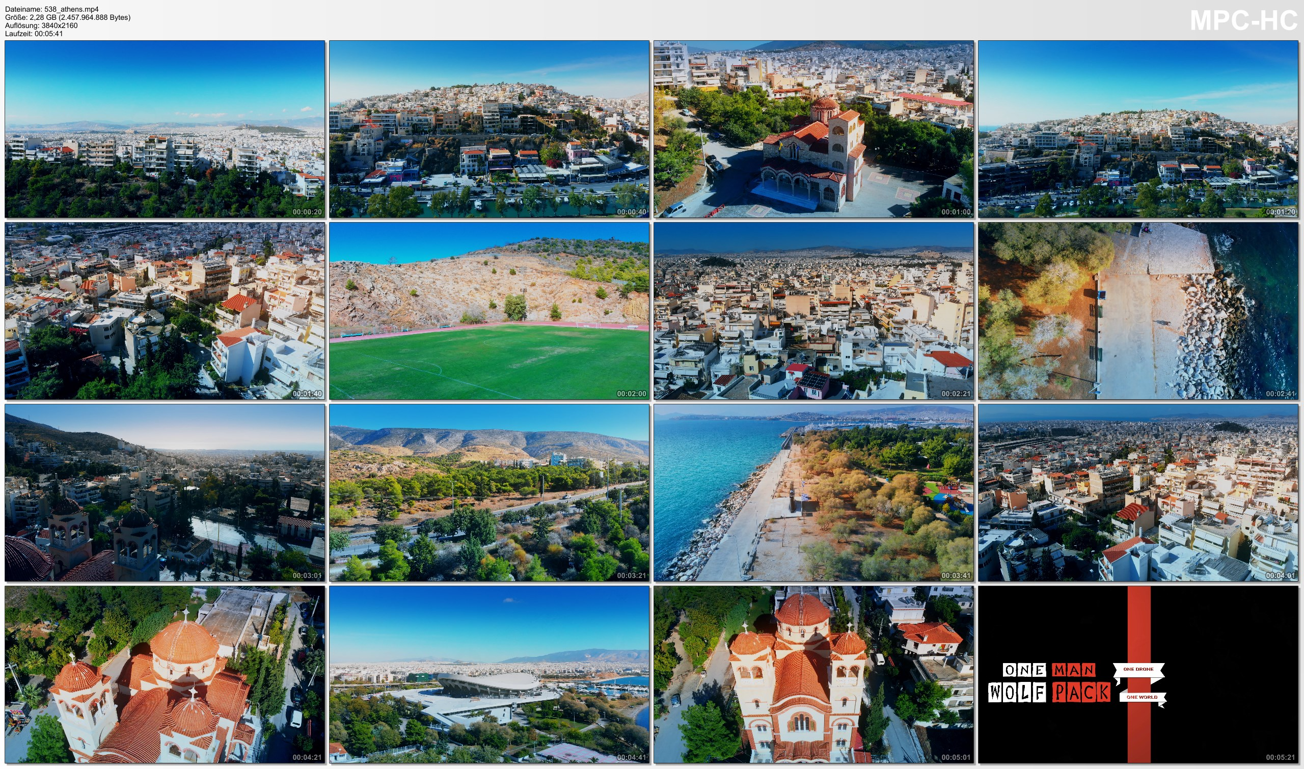 Drone Pictures from Video 【4K】Incredible Athens from Above - The Capital of GREECE 2020 | Cinematic Aerial Film