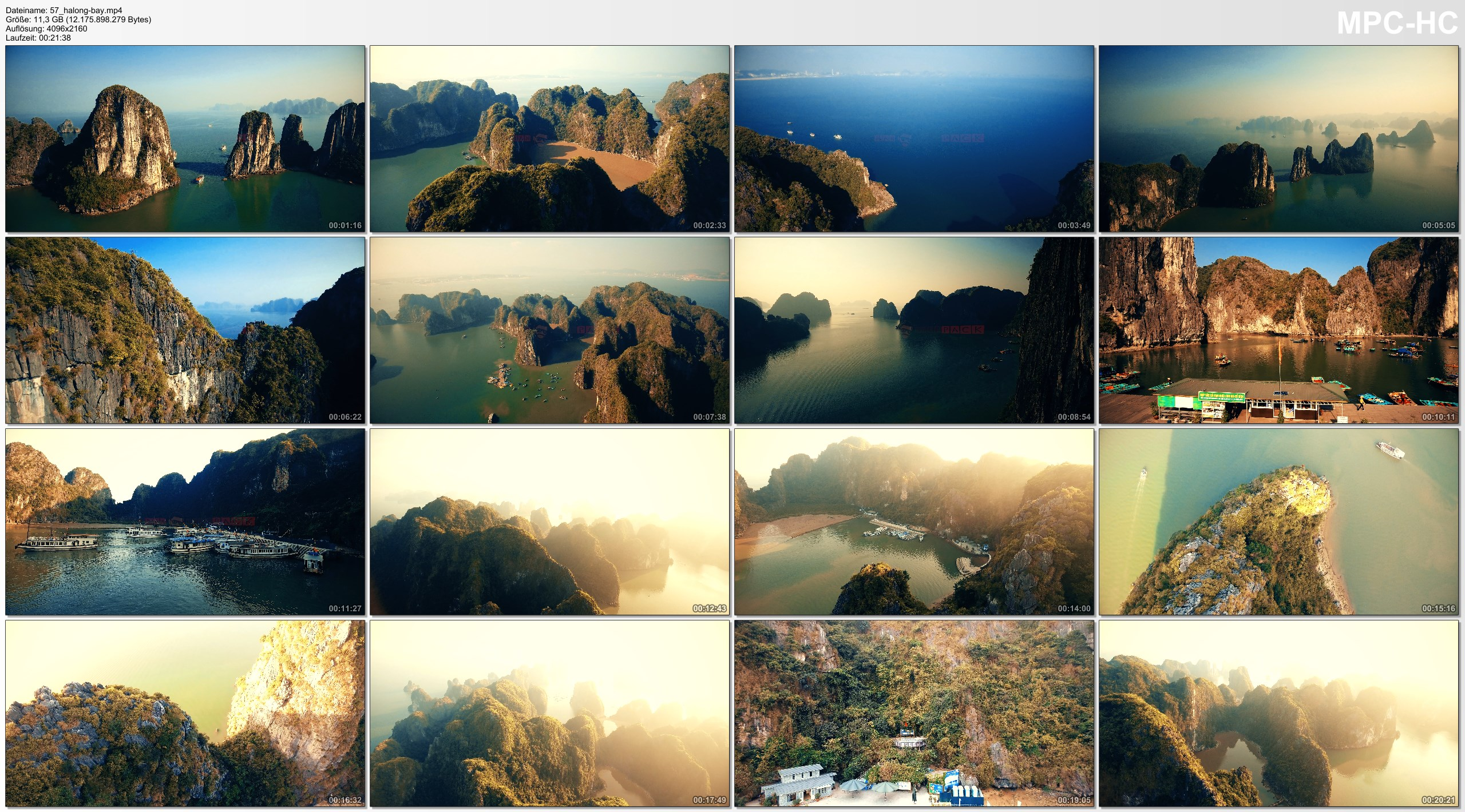 Drone Pictures from Video 【4K】Drone Relax Travel Video   HALONG BAY ..:: Vietnams Natural Wonder of the World 2019