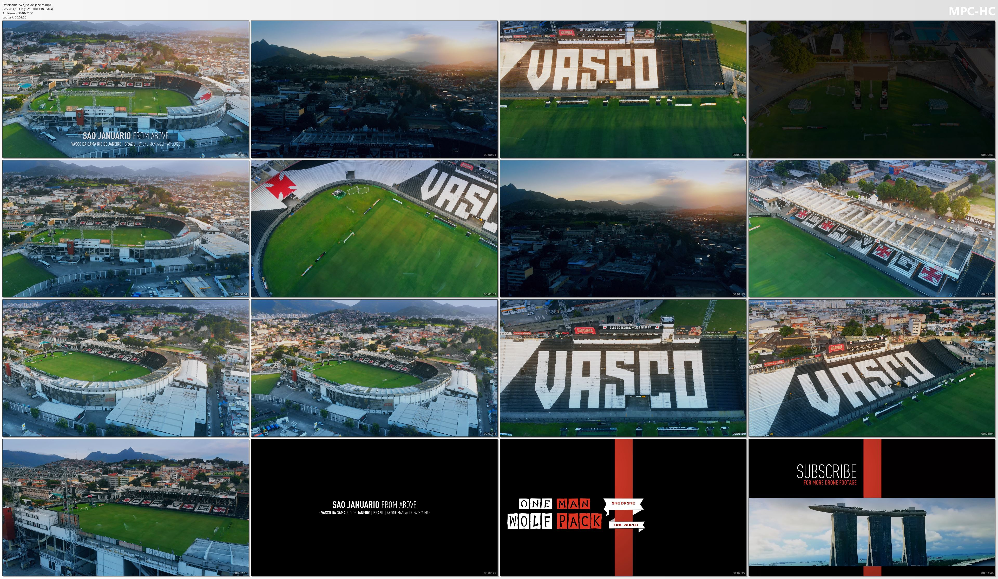 Drone Pictures from Video 【4K】Estádio São Januário from Above - BRAZIL 2020 | Vasco da Gama Cinematic Wolf Aerial™ Drone Film