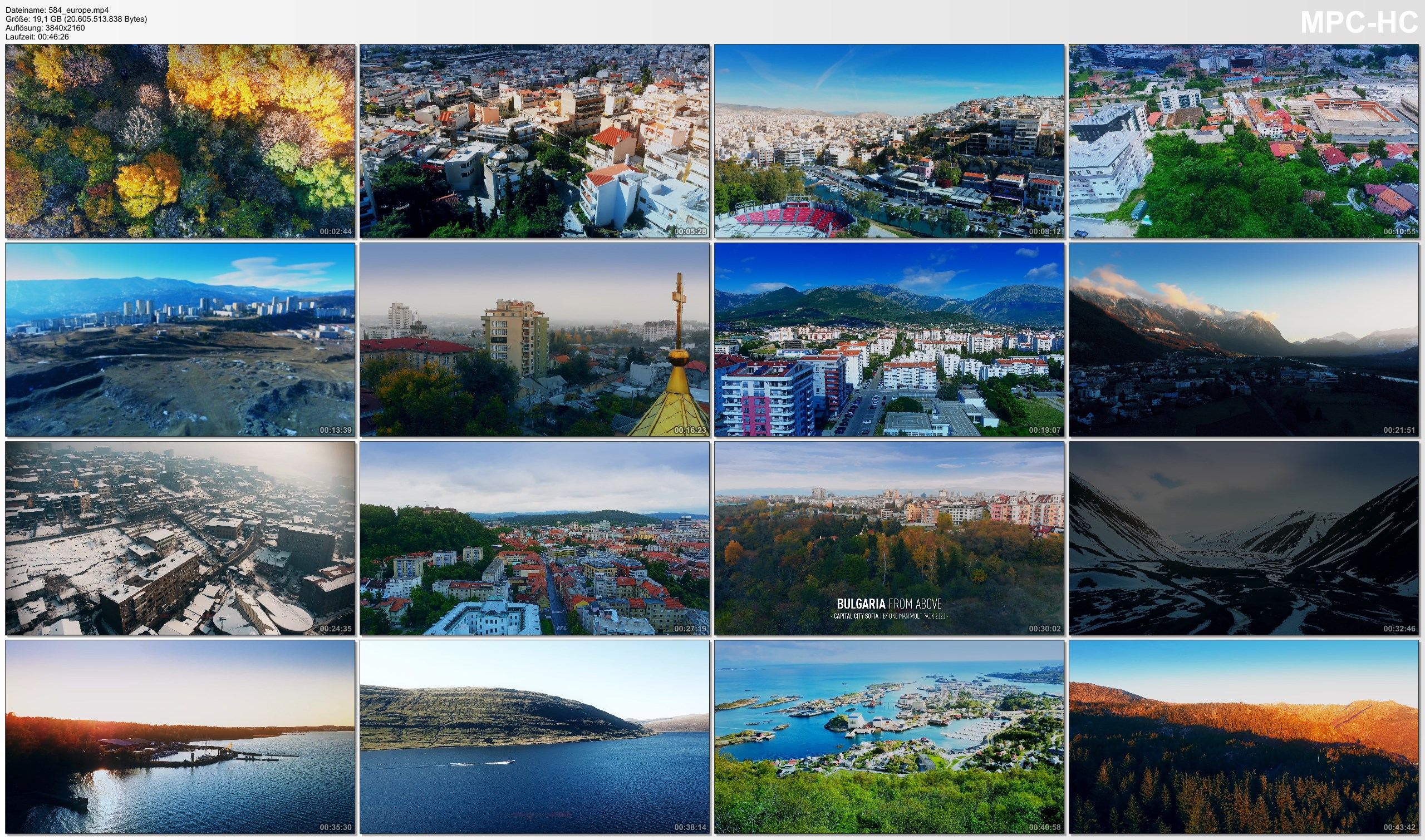 Drone Pictures from Video 【4K】16 Capitals of EUROPE from Above | Cinematic Wolf Aerial™ Drone Film