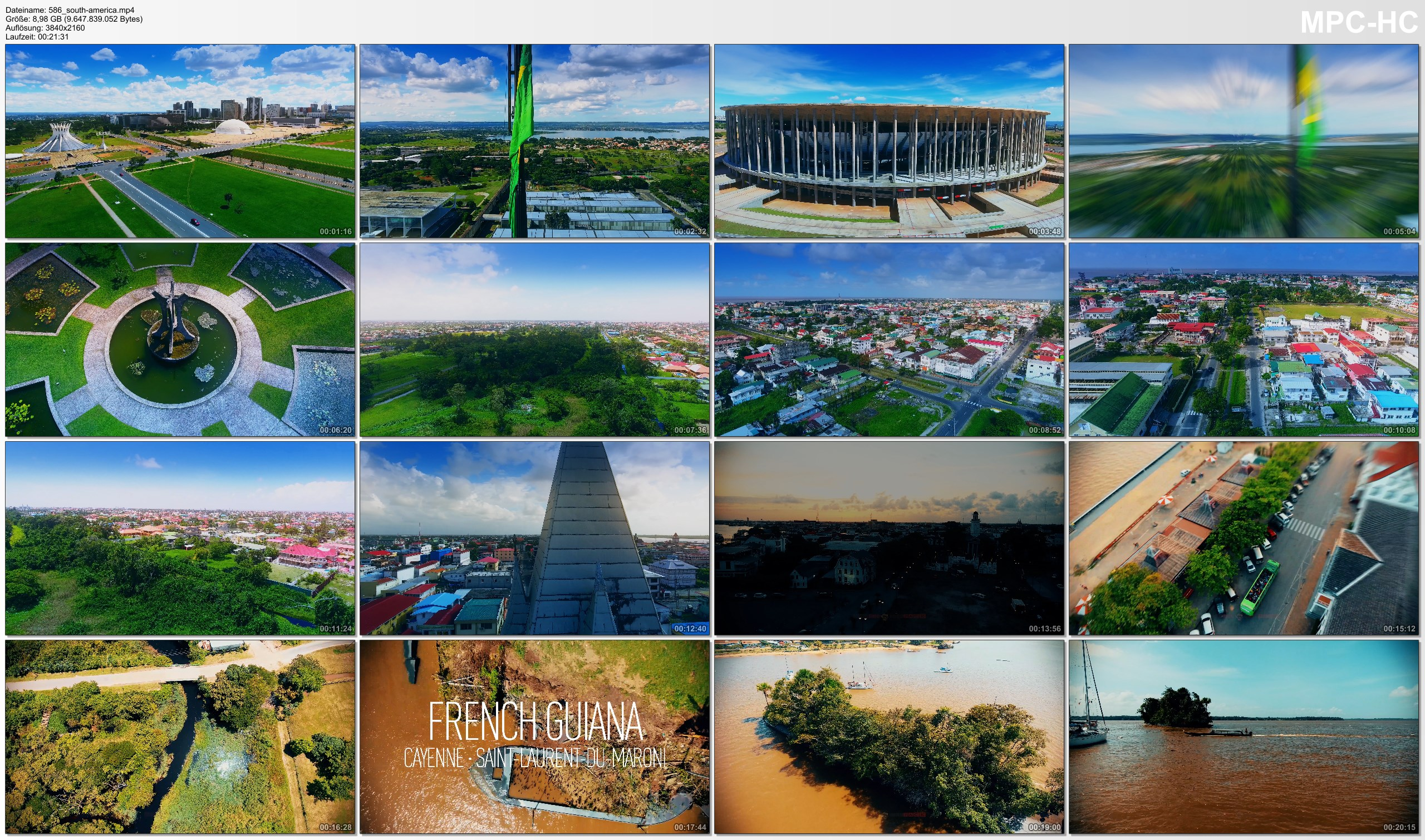 Drone Pictures from Video 【4K】4 Capitals of SOUTH AMERICA from Above | Cinematic Wolf Aerial™ Drone Film