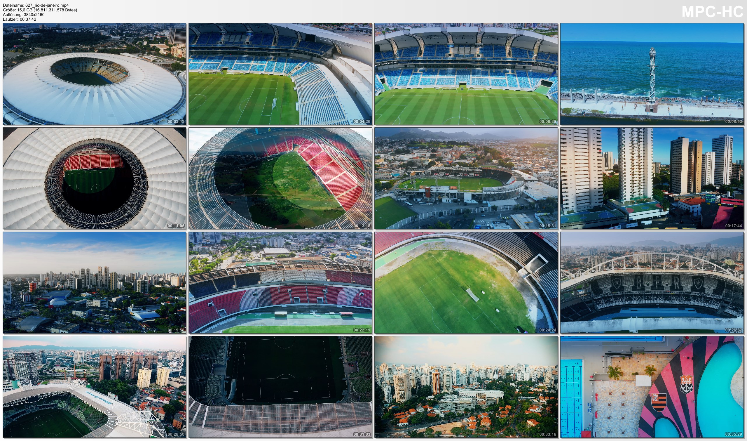 Drone Pictures from Video 【4K】The Stadiums of Brazil from Above | 2020 EXTENDED | Cinematic Wolf Aerial™ Drone