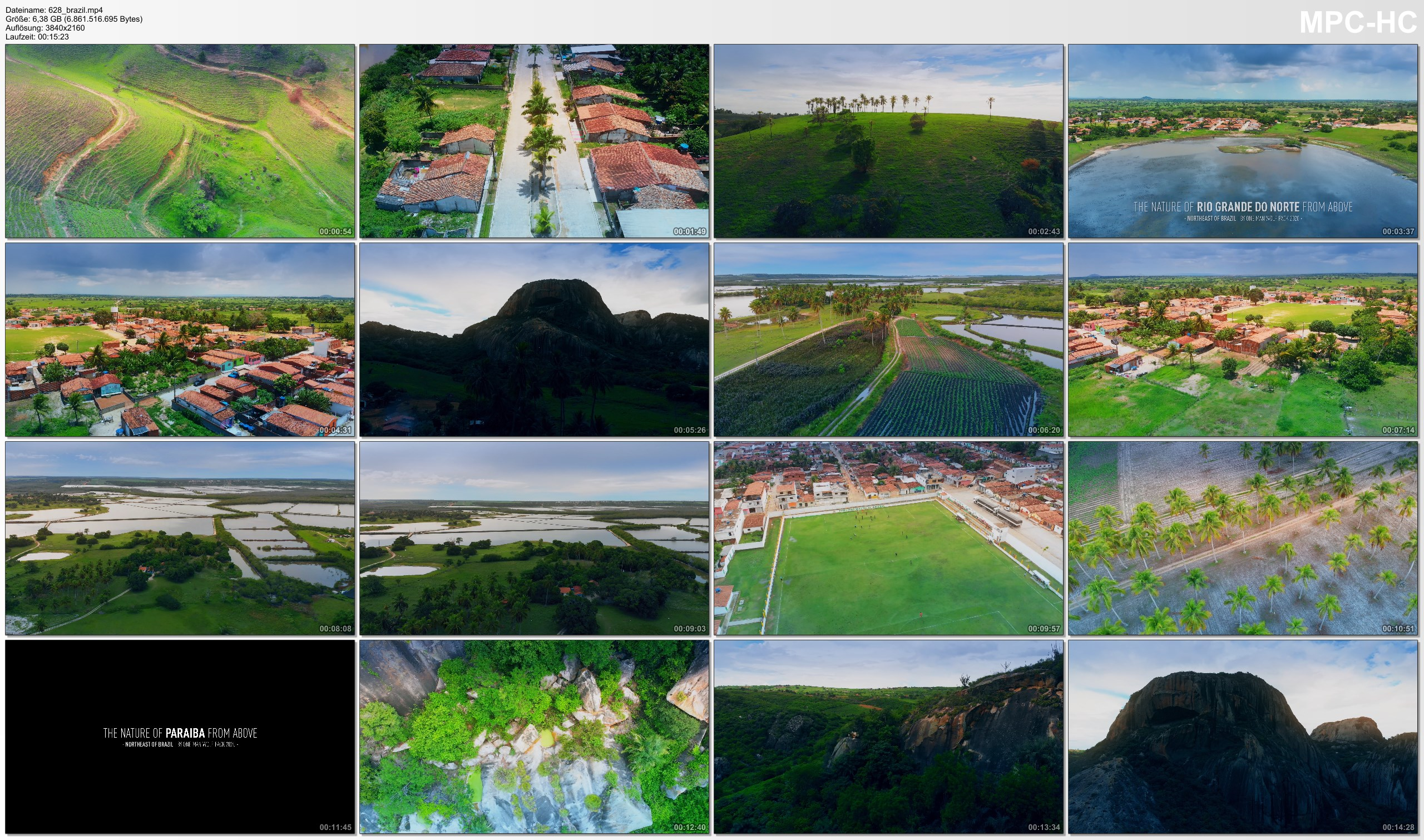 Drone Pictures from Video 【4K】The Interior of Brazil from Above   2020   Cinematic Wolf Aerial™ Drone Film