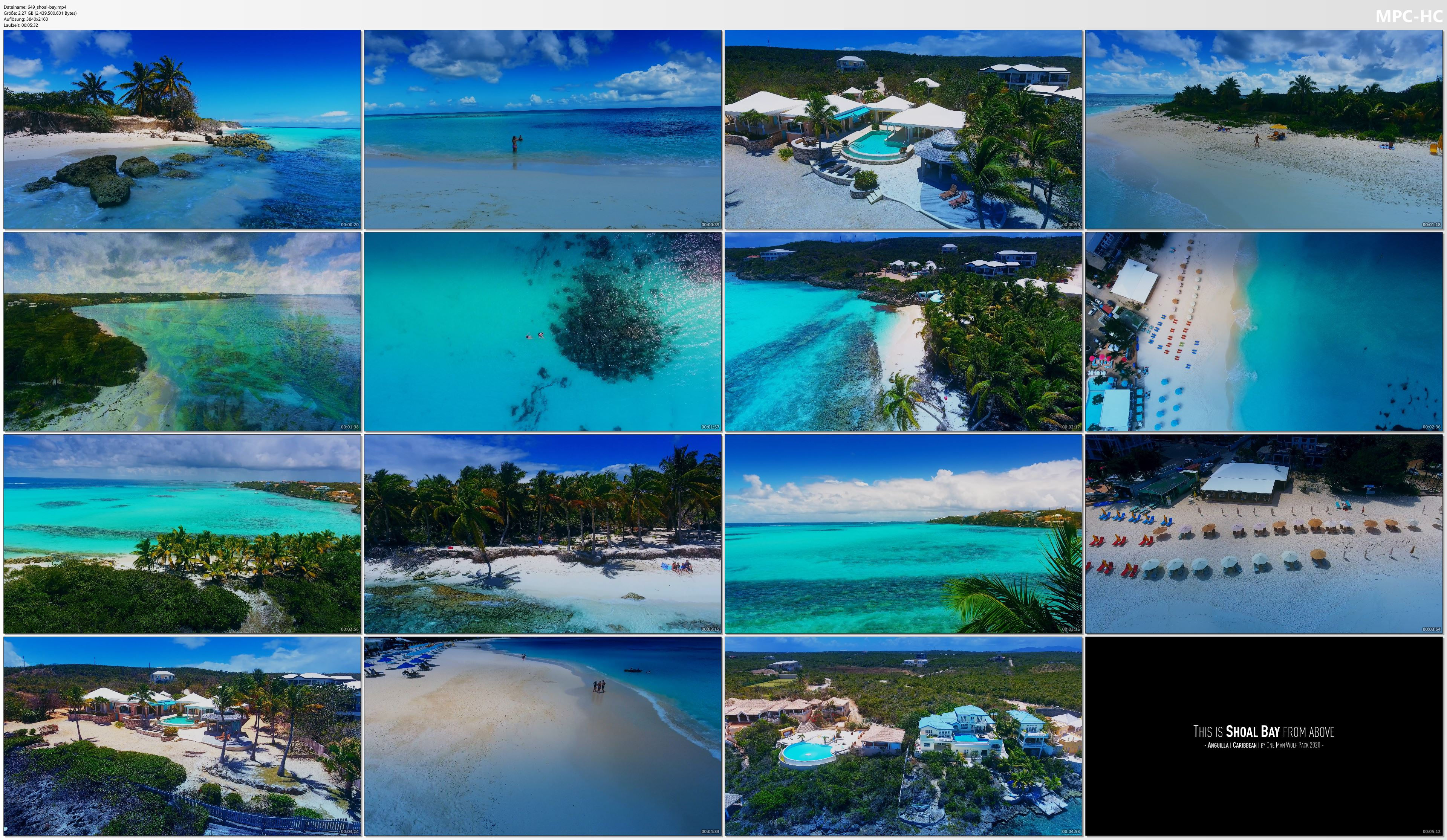 Drone Pictures from Video 【4K】Shoal Bay from Above - WORLDs MOST BEAUTIFUL BEACH?