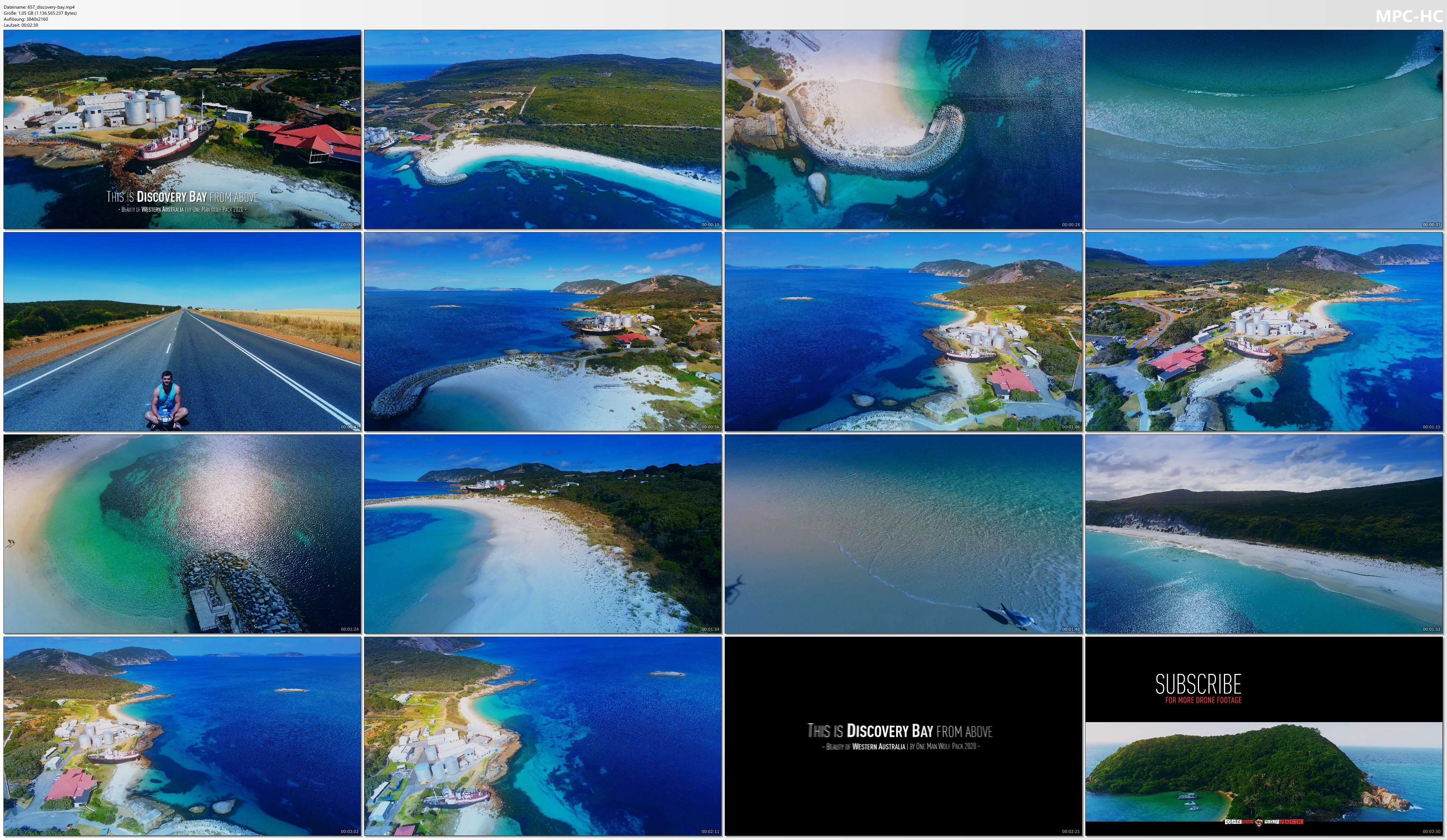 Drone Pictures from Video 【4K】Discovery Bay from Above - WESTERN AUSTRALIA 2020 | Cinematic Wolf Aerial™ Drone Film