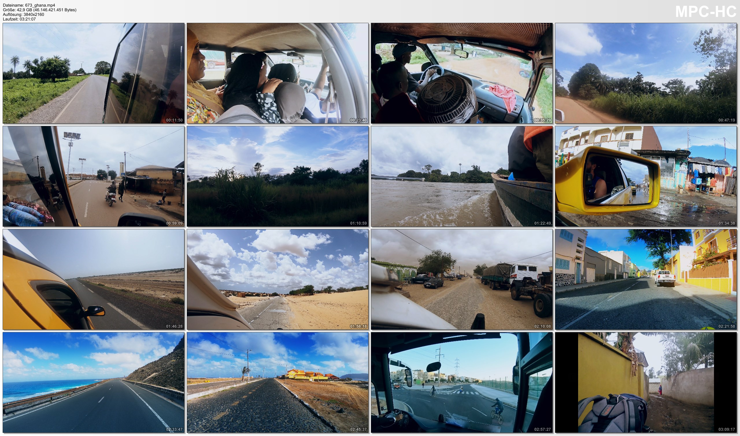 Pictures from Video 【4K】200 MINUTES | Driving around Africa | 2020 | UltraHD Travel Video