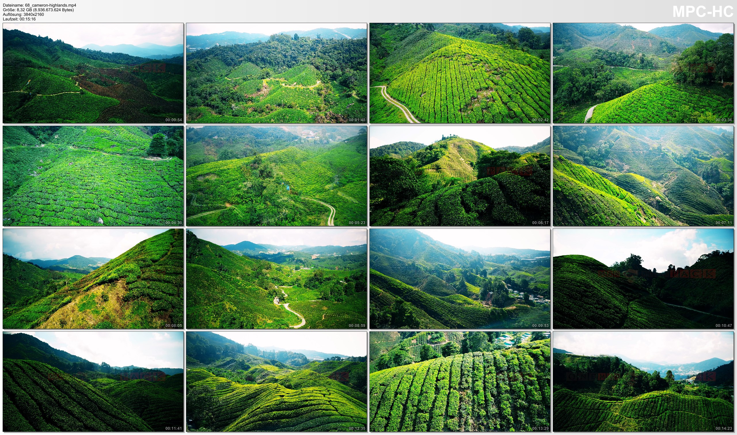 Drone Pictures from Video 【4K】Drone Relax Travel Video | CAMERON HIGHLANDS ..:: Malaysias Natural Wonder 2019