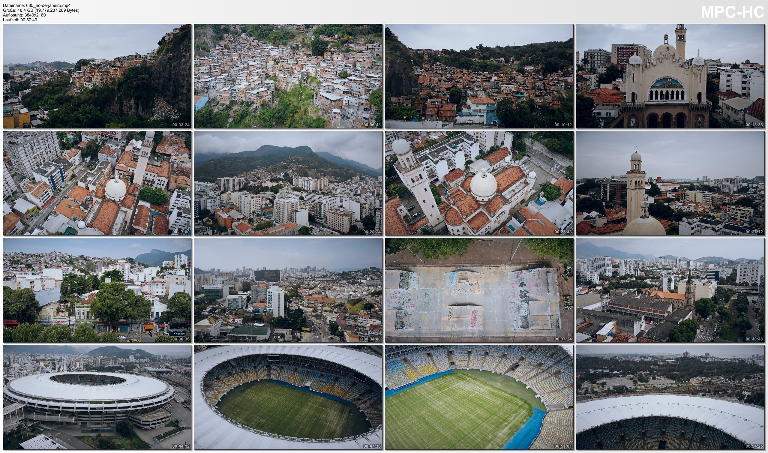 Drone Pictures from Video 【4K】Lockdown of Rio de Janeiro »1 Hour   BRAZIL   June 4, 2020   Cinematic Wolf Aerial™ Drone Film