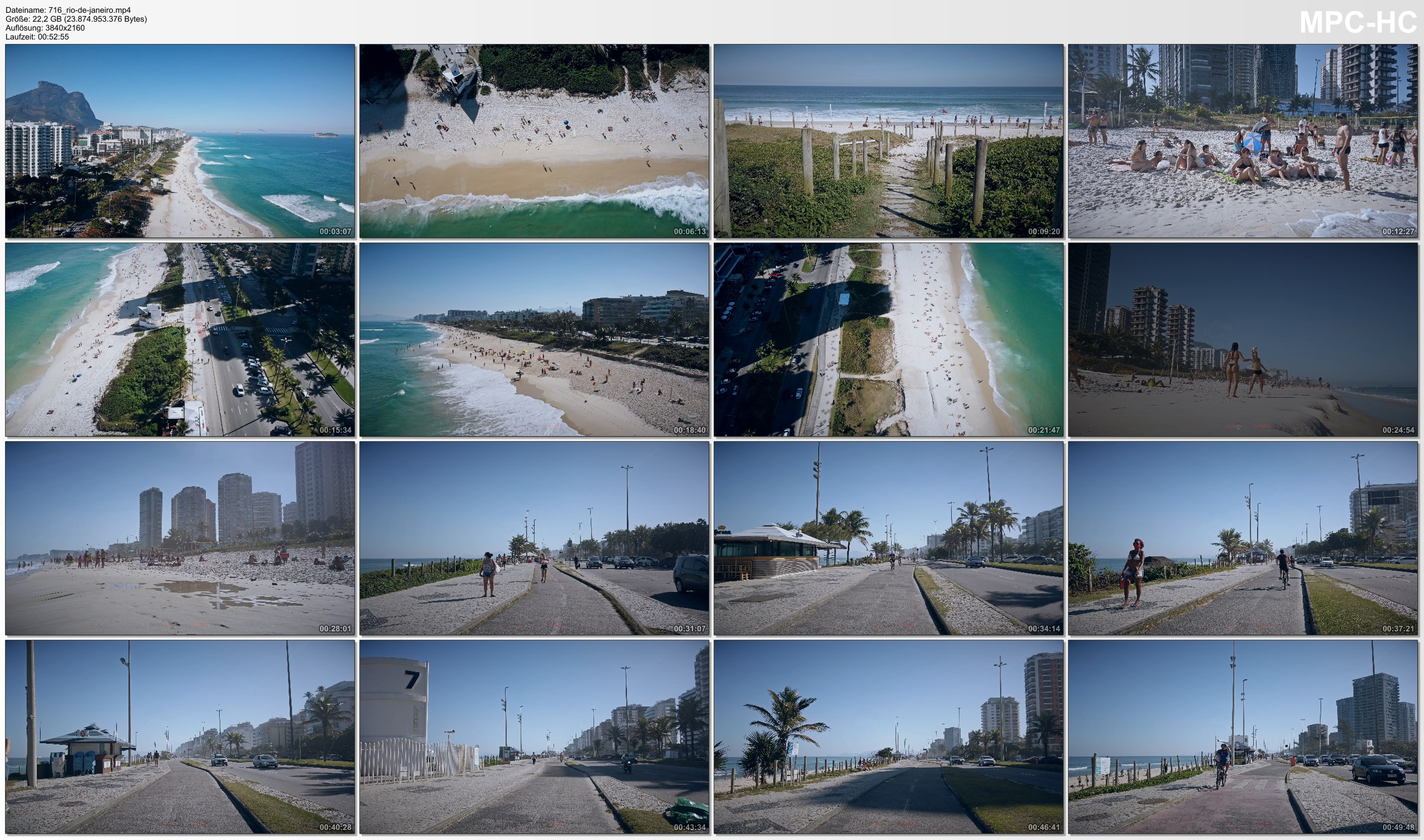 Drone Pictures from Video 【4K】1 HOUR DRONE FILM: «Barra da Tijuca after Corona» Ultra HD + Chillout Music (2160p Ambient TV)