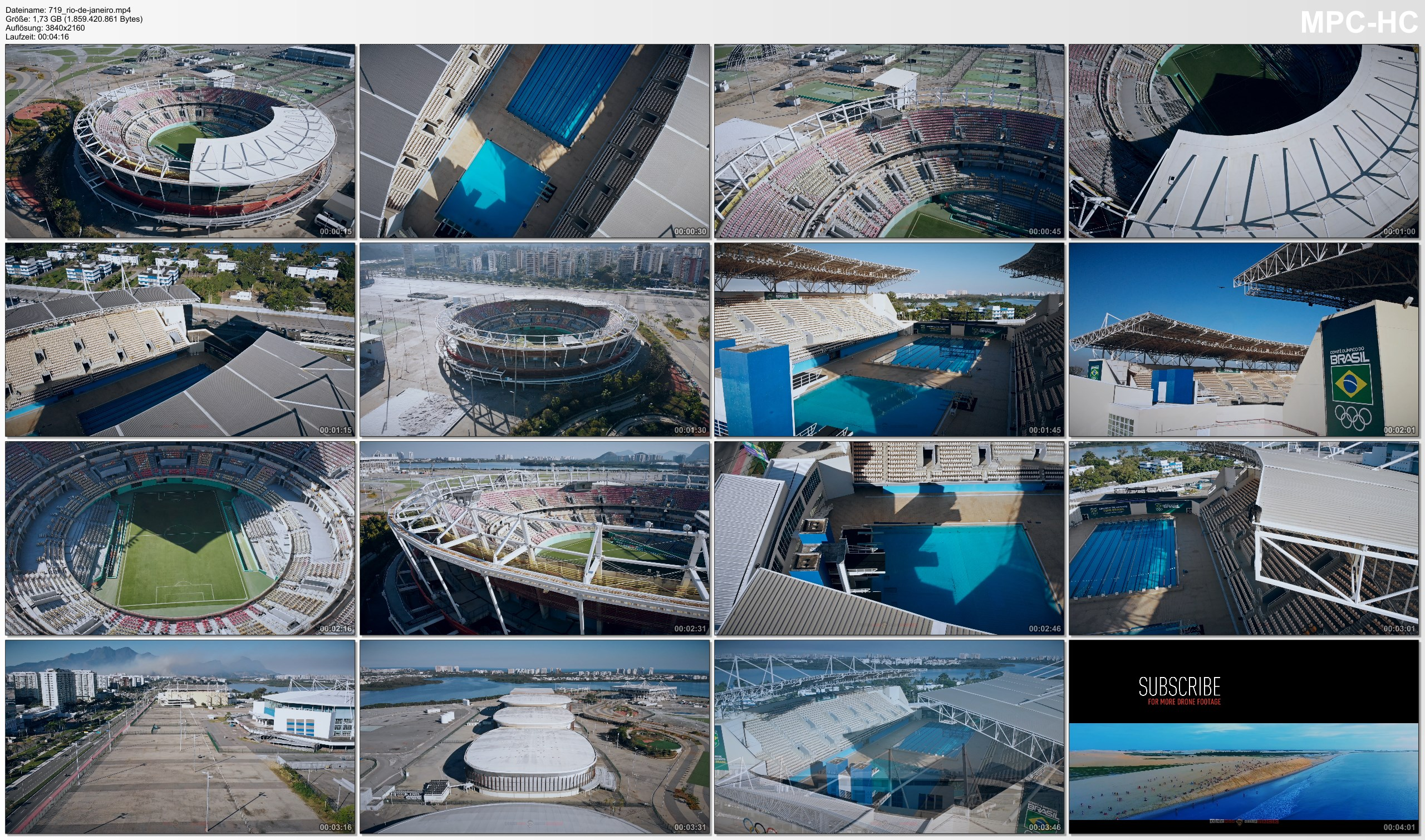 Drone Pictures from Video 【4K】Barra Olympic Park from Above - RIO DE JANEIRO 2020   Cinematic Wolf Aerial™ Drone Film