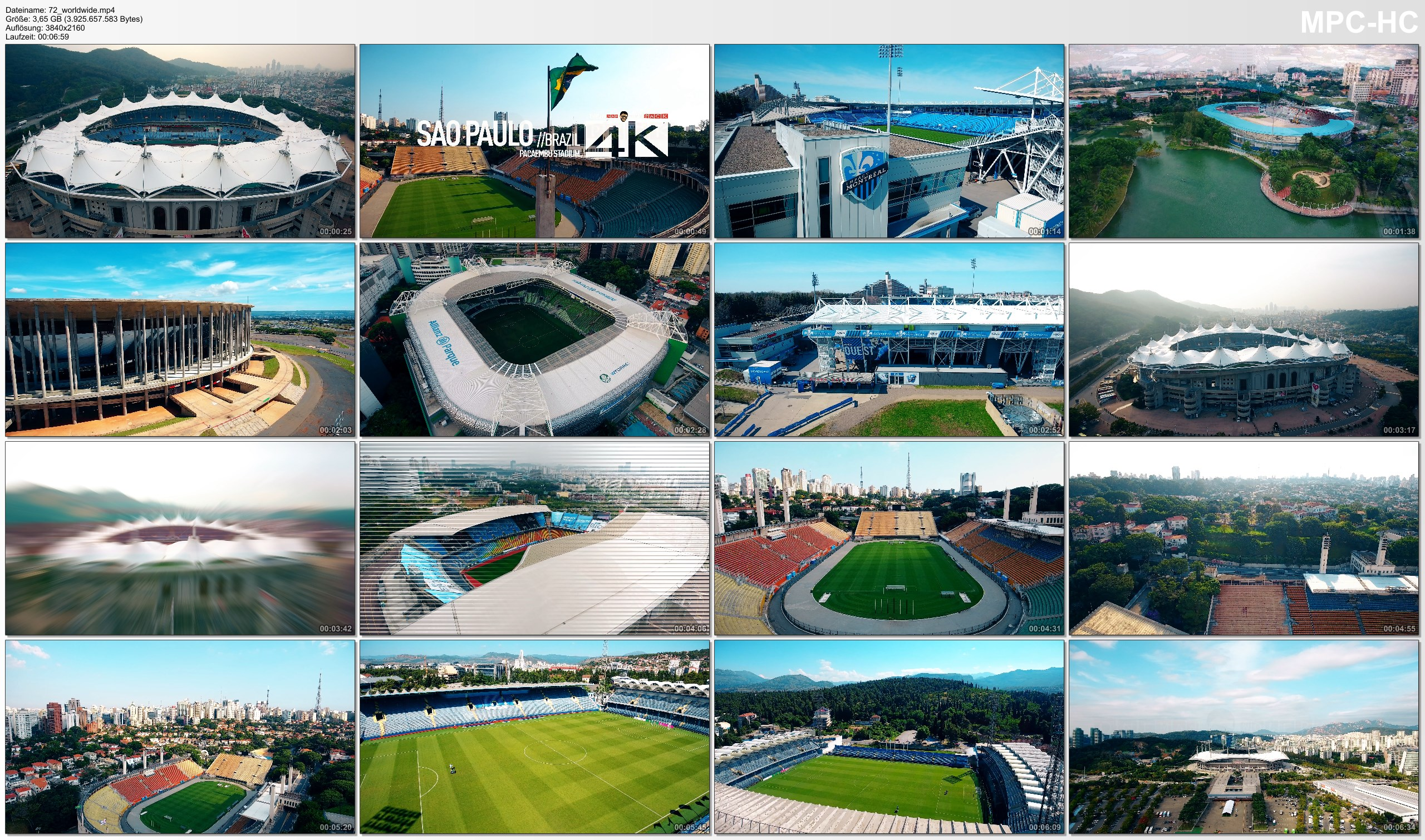 Drone Pictures from Video 【4K】Drone Footage | SPECTACULAR STADIUMS ..:: Arenas Around The World 2019