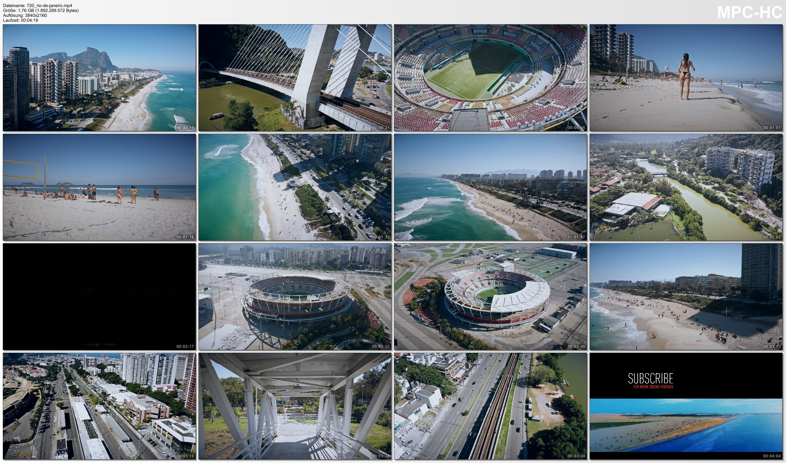 Drone Pictures from Video 【4K】Barra da Tijuca from Above - RIO DE JANEIRO 2020   Cinematic Wolf Aerial™ Drone Film