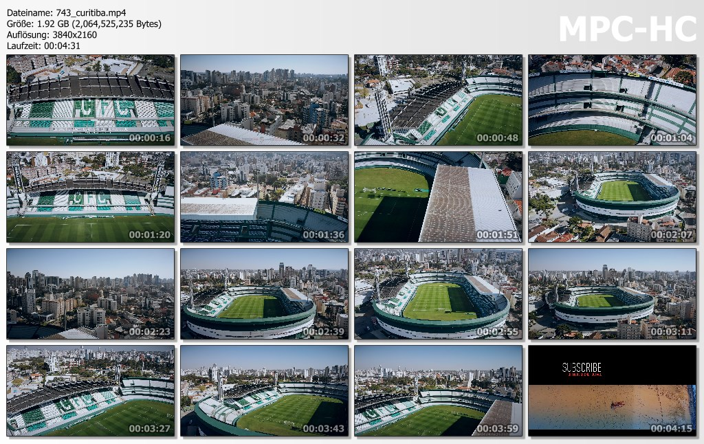 Drone Pictures from Video 【4K】Estadio Couto Pereira from Above - BRAZIL 2020 | Coritiba FC | Cinematic Wolf Aerial™ Drone Film