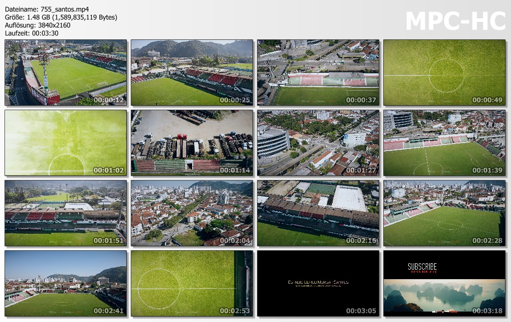 Drone Pictures from Video 【4K】Estadio Ulrico Mursa from Above - BRAZIL 2020 | Santos, SP | Cinematic Wolf Aerial™ Drone Film