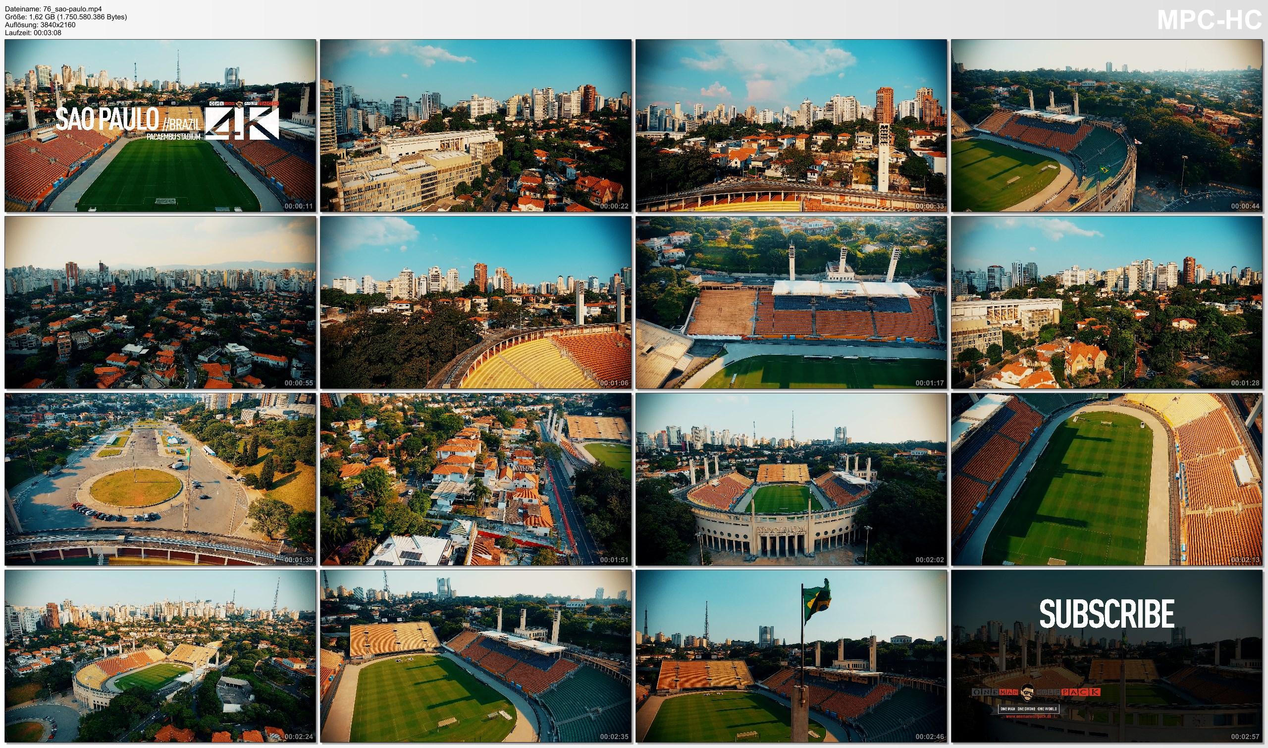 Drone Pictures from Video 【4K】Drone Footage | PACAEMBU STADIUM Sao Paulo ..:: Spectacular Arenas 2019