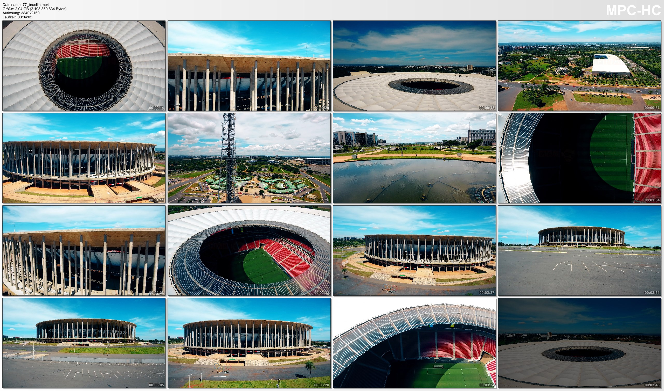 Drone Pictures from Video 【4K】Drone Footage | ESTADIO NACIONAL DE BRASILIA MANE GARRINCHA ..:: Spectacular Arenas 2019