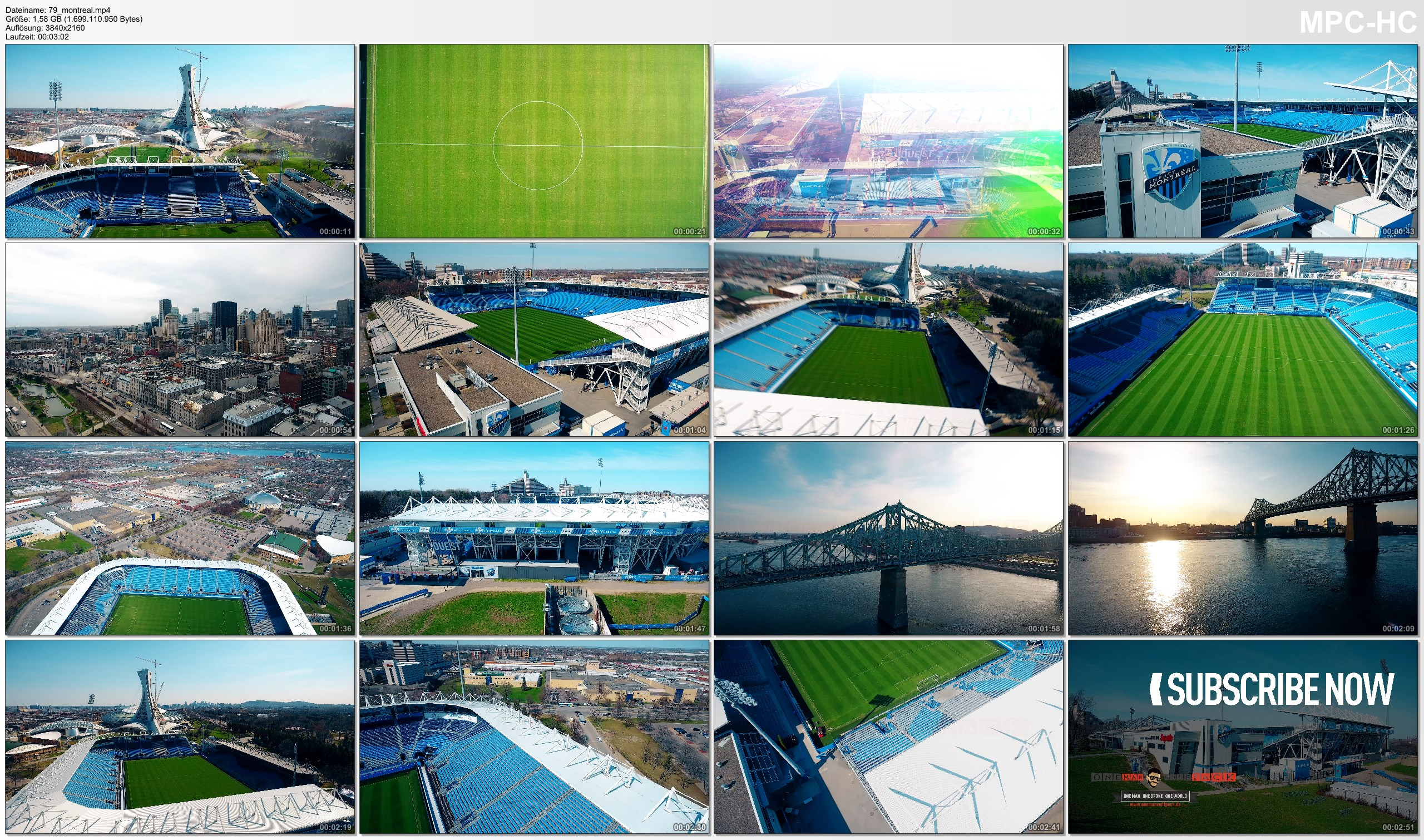Drone Pictures from Video 【4K】Drone Footage | SAPUTO STADIUM Montreal Impact ..:: Spectacular Arenas 2019