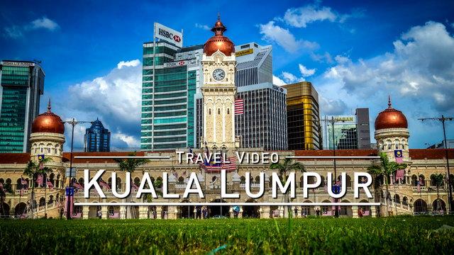 Pulse of KUALA LUMPUR [Timelapse + Drone Flight] @1080p