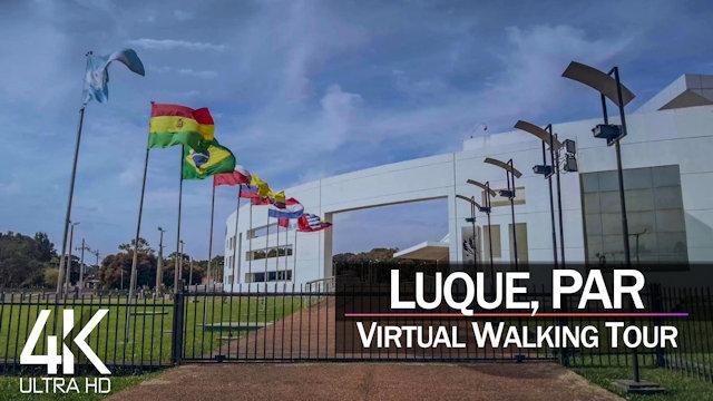 【4K 60fps】VIRTUAL WALKING TOUR: «Luque - Paraguay 2021» | Original Sounds Ultra HD (2160p TV)