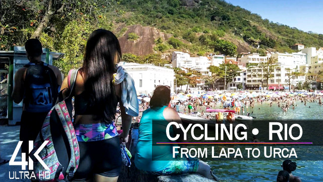 【4K 60fps】VIRTUAL CYCLING TOUR: «Rio de Janeiro - Brazil 2021» | Original Sounds Ultra HD