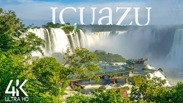 【4K】The Worlds Most Beautiful Waterfalls: «Iguazú Falls» Brazil 2021