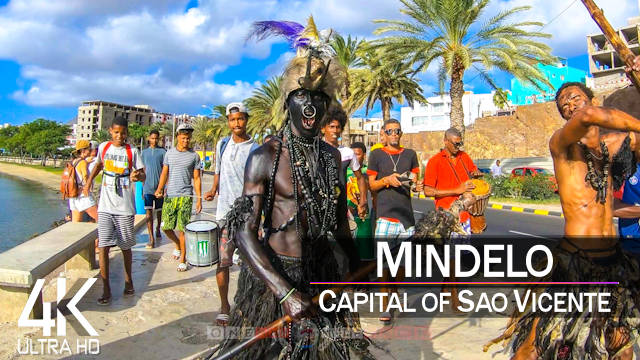 【4K】Mindelo from Above | CAPE VERDE 2021 | Cinematic Wolf Aerial™ Drone Film