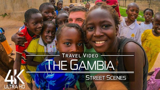 【4K】STREET SCENES: «Visiting The Gambia» Serekunda & Banjul | Ultra HD Travel Video
