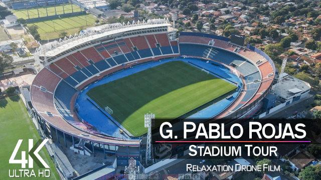 【4K】Estadio General Pablo Rojas from Above | PARAGUAY 2021 | Club Cerro Porteño