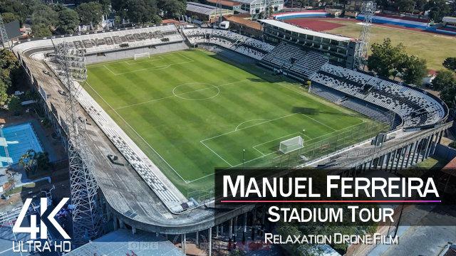 【4K】Estadio Manuel Ferreira & Dr Nicolas Leoz from Above | PARAGUAY 2021 | Olimpia & Club Libertad