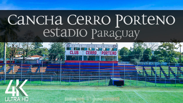 【4K】Estadio Felipe Giménez from Above | CDE - PARAGUAY 2021 | Cinematic Wolf Aerial™ Drone Film