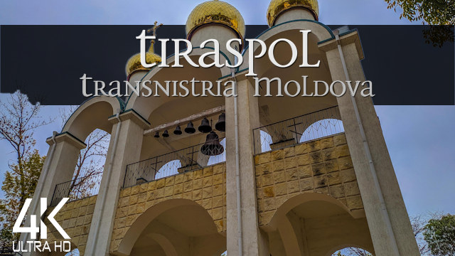 【4K】½ HOUR DRONE FILM: «This is Tiraspol - Transnistria» | Ultra HD | Chillout Music