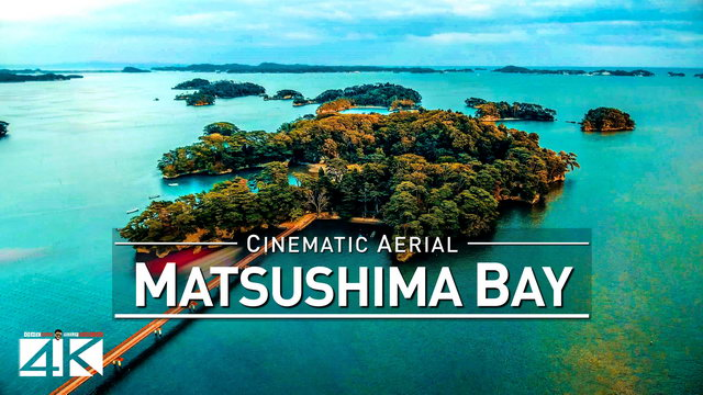 【4K】Drone Footage | MATSUSHIMA BAY Japan 2019 ..:: Over 250 Islands