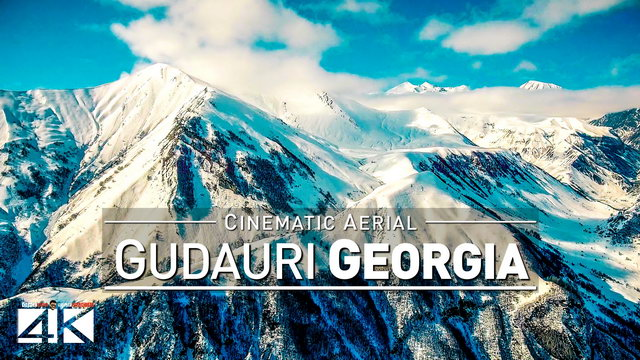 【4K】Drone Footage | GUDAURI 2019 ..:: Georgia most popular Ski Resort