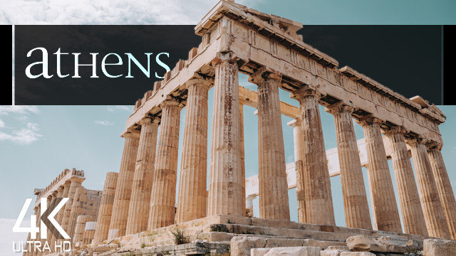 【4K】Athens from Above | Capital of GREECE 2021 | Cinematic Wolf Aerial™ Drone Film