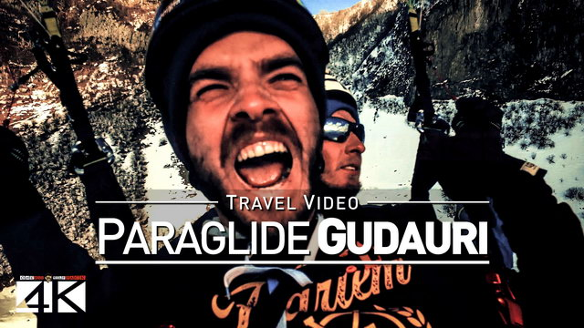 【4K】Footage | Gudauri PARAGLIDE 2019 ..:: Paragliding at Georgia most popular Ski Resort